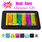 Q88 Pro A20 7 Inch Android 4.2 Dual Core Tablet 1.2Ghz Dual Camera with Flash