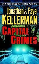 Capital Crimes-Jonathan/Faye Kellerman-Two novellas-large paperback-comb ship