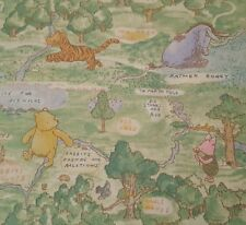 Classic Pooh BTY Springs Winnie the Pooh Eeore Tigger Piglet Scenic Green