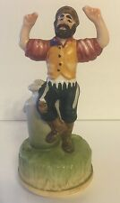 Man Dancing with Jug Music Box CMI Boston 1972 Fiddler On The Roof Made In Japan