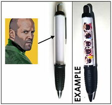 JASON STATHAM PEN STATIONERY FAN POP ART PHOTO GIFT