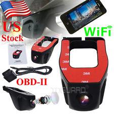 Novatek 96655 HD 1080P WiFi Car Dashcam SONY Sensor DVR Recorder OBDII US STOCK