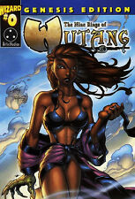 The Nine Rings of WU-TANG CLAN #0 GENESIS EDITION WIZARD VARIANT RZA GZA ODB NM