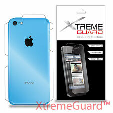 XtremeGuard Clear LCD Screen Protector Shield Skin For Apple iPhone 5C BACK ONLY