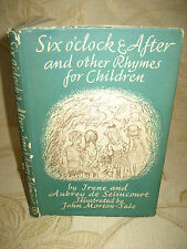 Antique Book Of Six O'clock And After, By Irene And Aubrey De Selincourt - 1945