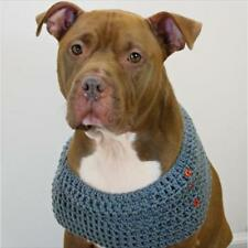 Slate Grey Crochet Cowl for Dogs (CTC) - Free Shipping