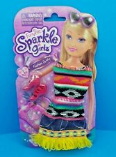 """NEW! FUNVILLE SPARKLE GIRLZ FASHION OUTFIT 12"""" DOLL CLOTHES ~ DRESS & SHOES"""