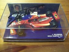 1/43 WILLIAMS 1998 MECACHROME FW20 JACQUES VILLENEUVE SIGNED ON LID