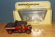 Matchbox Yesteryear Y13 Crossley Evans Bros Dull Dark Red Seats Dark Red Body