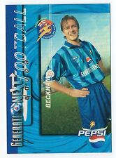 Rare Pepsi Cola 1997 Thailand Football Card David Beckham Manchester Man United