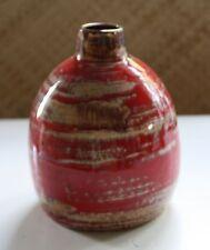 """Töpferei Roth Handarbeit Keramik Vase Studioarbeit Monogramm """"MR"""""""