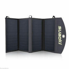 100W Portable Folding Solar Panel Battery Charger For Military Outdoor Sports
