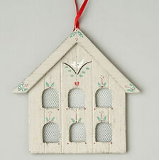 Shaker/country wooden DOVECOTE bird house EASTER/Christmas TREE DECORATIONS
