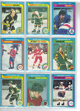 Lot of 10 Different 79-80 OPC O-Pee-Chee Cards **U-Pick** Complete Your Set
