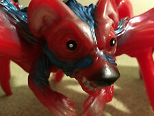 "M1go Japan ANGRY RED PLANET  Rat-Bat-Spider 13"" Vinyl Monster Kaiju Bullmark C"