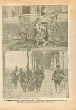 Feldgrau Deutsches Heer Abri Souterrain Cyliste Tommy Canada France 1918 WWI