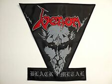 VENOM BLACK METAL   EMBROIDERED BACK PATCH