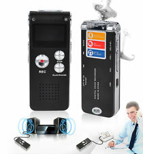8GB Digital Voice Recorder 650Hr Dictaphone SK-012 MP3 Player VOR Rechargeable