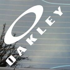 "BRAND NEW 6"" OAKLEY LOGO SURF SUN GLASSES EURO JDM VW CAMPER STICKER DECAL"