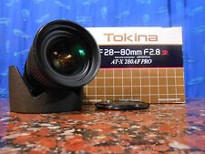Mint Tokina AT-X PRO 280 AF 28-80mm f2.8 SD Aspherical IF Nikon In Box Perfetto