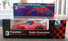 Marvel Spiderman 1979 Vintage Radio Control Coche Transmisor Power Comando 6852