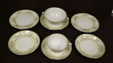 Vintage NATIONAL CHINA Cups Saucers Plates Pattern #NAT1 made in Japan