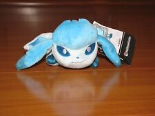 Awake GLACEON Pokemon Center Poke Plush Kuttari Cutie bean bag doll NEW