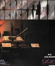 Perfect General II 2 PC CD control tank units world war scenario strategy game!