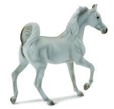 Arabe étalon gris 11 cm monde de cheval Collecta 88476