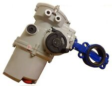 """Rotork 3-phase Actuated Danfos Socla 4"""" Butterfly Valve"""