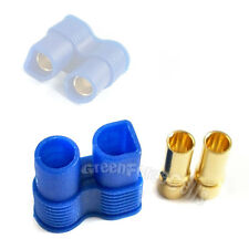 50 pcs Female EC3 3.5mm Gold Banana Bullet Connector Plugs For RC Lipo Battery