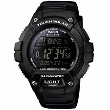 Casio WS220-1BV, Solar Powered Watch, 5 Alarms, World Time, 120 Lap Memory