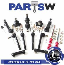 14 Piece Ball Joint Pitman & Idler Arm Tie Rod End Kit for Chevy K1500 GMC K2500