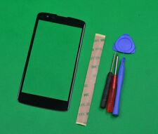 Black Screen Glass for LG Phoenix 2 K8 K350N K350E K350DS US375, Escape 3 K373