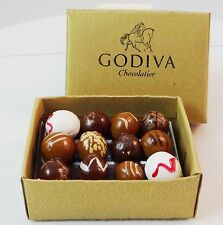 "Faux Godiva Chocolate Box for FR Barbie, other 12"" dolls"