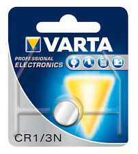 2 x Varta Lithium Button Battery 3V CR1/3N / 1/3N / 2L76