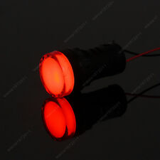 New 2PCS Red 22mm 12V LED Indicator Power  Signal Light