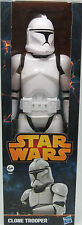 "STAR WARS CLONE TROOPER 12"" FIGURE BRAND NEW IN BOX GREAT GIFT HASBRO"
