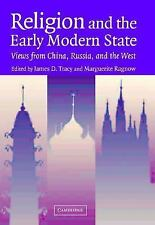 Religion and the Early Modern State: Views from China, Russia, and the West (Stu