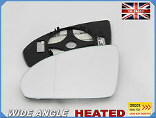 SMART FORTWO 2007-2012 Wing Mirror Glass Aspheric HEATED Left Side #S004