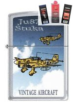 Zippo 205 JU87 Stuka German WW2 Lighter + FUEL FLINT & WICK GIFT SET