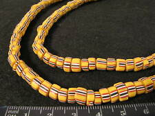 Alte Glasperlen Handelsperlen Old striped Glass African Trade beads Afrozip