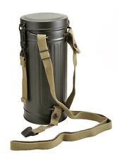 German WW2 Gas Mask Container Tube