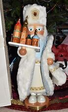 "SIGNED Steinbach S1761 ""RUSSIAN Santa"" Nutcracker w/ Box Hang Tag Kurt Adler"