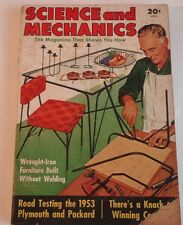 Vintage April 1953 Issue of Science and Mechanics Magazine