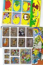Sticker ( 3 Packungen) neu