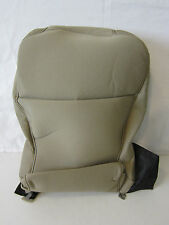 NEW OEM FORD F-150 F150 XLT JUMP CENTER 20 SEAT BACK COVER CLOTH TAN PALE ADOBE
