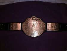 WWE Adult World Heavyweight Big Gold Championship Replica Autographed Title Belt