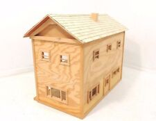 "Handcrafted Two Story Wood DollHouse W30 1/2"" x D16"" x H23"""