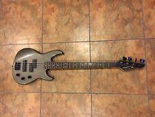 Peavey Foundation S Precision Jazz Electric Bass Guitar RARE Gray USA